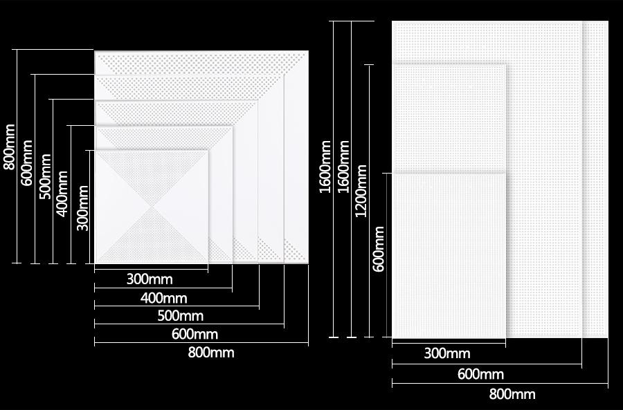 铝扣板产品规格