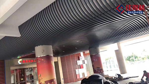 当今火热的铝方通吊顶材料,都适用在哪些场所?