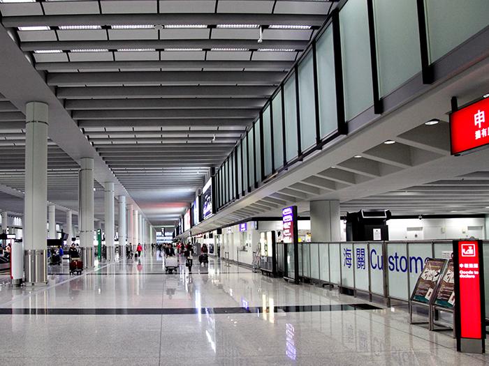 香港国际机场吊顶铝天花板工程项目