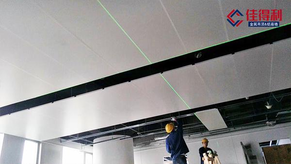 厂房办公室铝扣板吊顶安装距离要预留多高