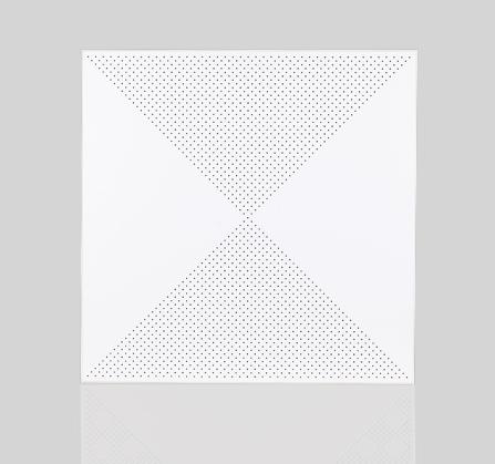 工程铝扣板·对角冲孔