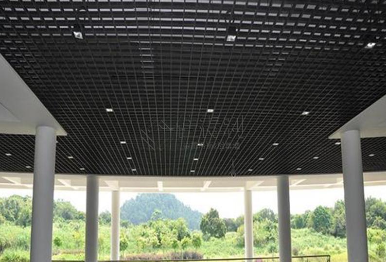铝格栅吊顶 (19)