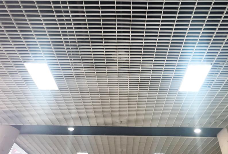 铝格栅吊顶38