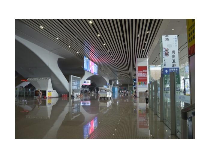 广州南站汽车站铝方通吊顶工程项目