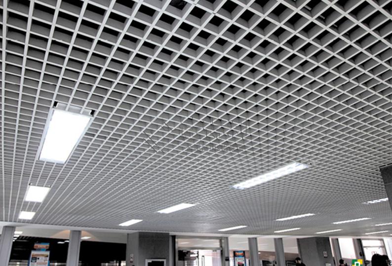 铝格栅吊顶 (30)