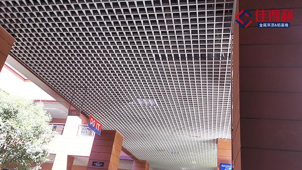 吊顶铝格栅厂家细述铝格栅规格尺寸和价格的关系