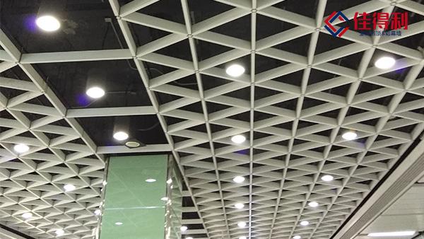 不增加铝格栅吊顶天花的情况下吊出你需要的天花效果