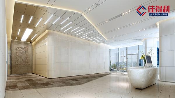 铝矿棉复合板为什么成为受欢迎的工装吊顶铝扣板