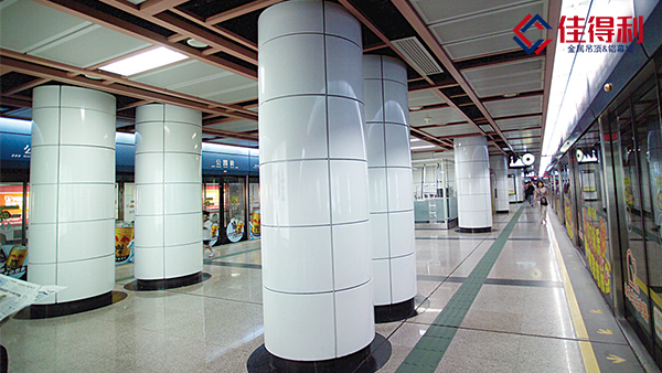 圆型包柱铝单板