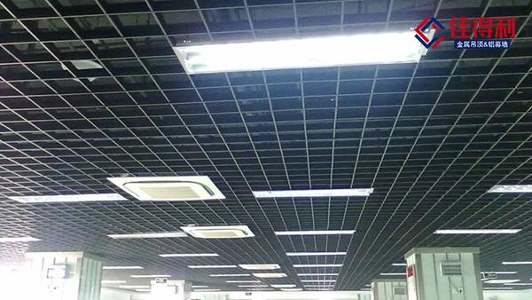 和佛山铝格栅厂家探讨铝格栅吊顶怎么选