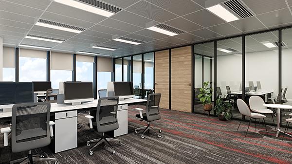 铝扣板吊顶厂家教教你办公室吊顶材料如何选?「佳得利」建材