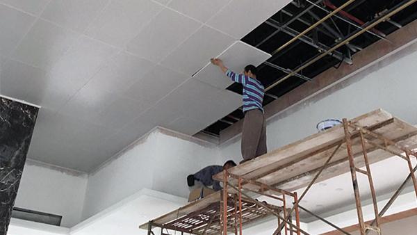 铝扣板吊顶 施工条件以及安装注意事项「佳得利」建材