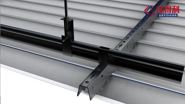 佳得利建材长条吊顶铝条扣板天花怎么拆卸