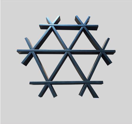 三角型铝格栅