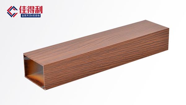 木纹型材铝方通吊顶