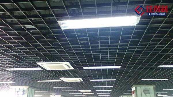 如何吊出你需要的铝格栅天花效果