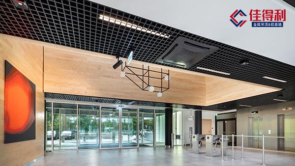 过道吊顶的铝扣板是用铝格栅还是铝方通好?