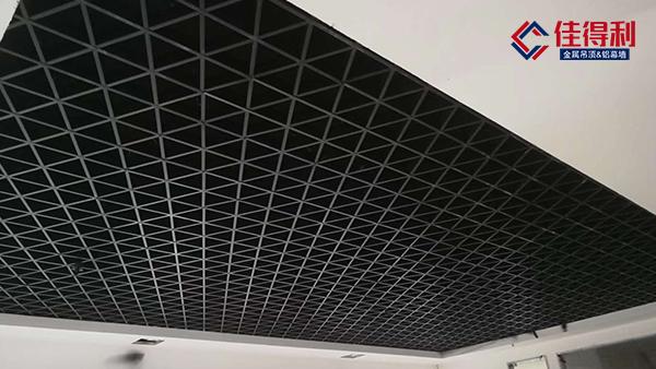 佳得利三角形铝格栅吊顶天花怎么样