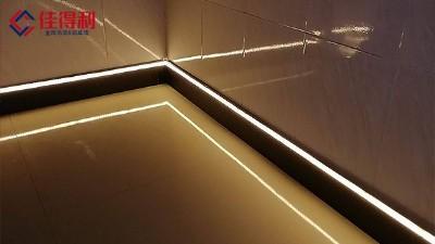 办公室LED发光踢脚线