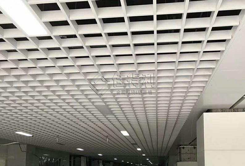 铝格栅吊顶 (20)