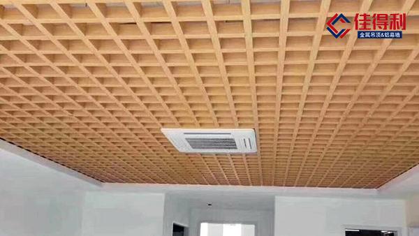铝合金格栅吊顶施工工艺详解