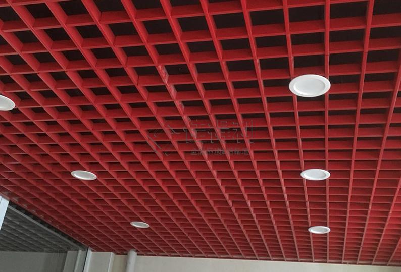 铝格栅吊顶 (1)